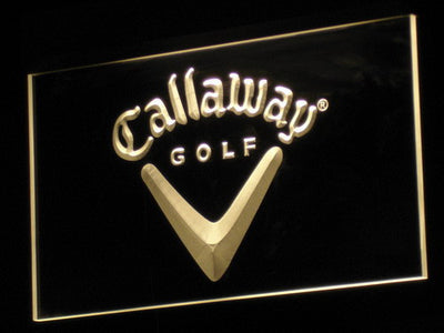 Callaway LED Neon Sign - Yellow - SafeSpecial