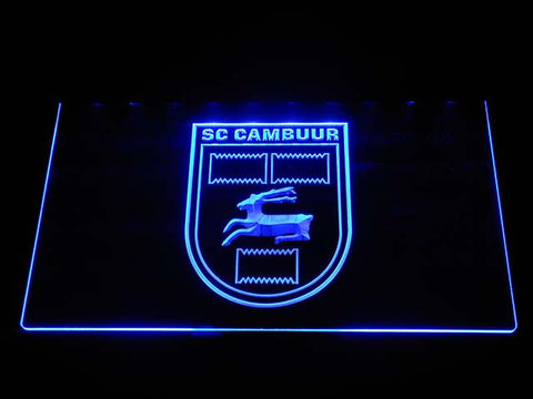 Cambuur LED Neon Sign - Blue - SafeSpecial