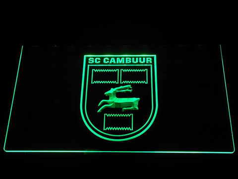 Cambuur LED Neon Sign - Green - SafeSpecial