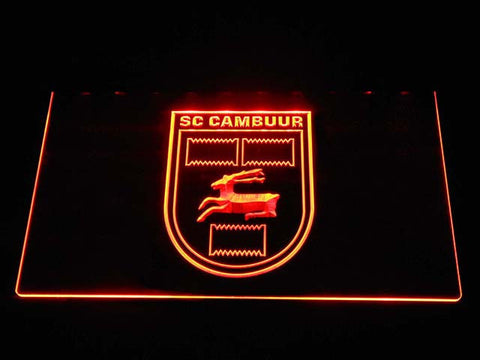 Cambuur LED Neon Sign - Orange - SafeSpecial