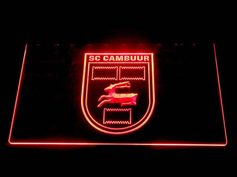 Cambuur LED Neon Sign - Red - SafeSpecial