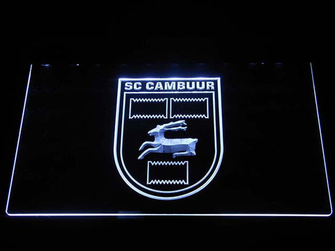 Cambuur LED Neon Sign - White - SafeSpecial