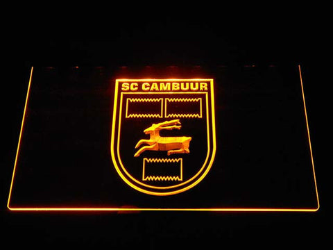 Cambuur LED Neon Sign - Yellow - SafeSpecial