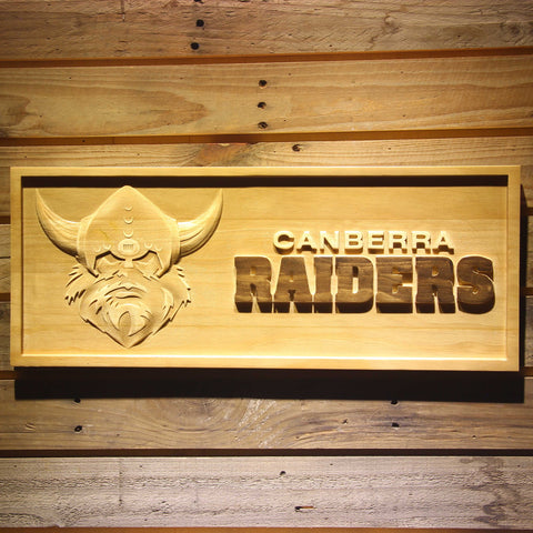 Image of Canbera Raiders Wooden Sign - Small - SafeSpecial