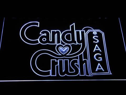 Candy Crush Saga LED Neon Sign - White - SafeSpecial
