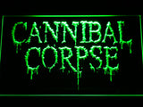 Cannibal Corpse LED Neon Sign - Green - SafeSpecial