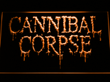 Cannibal Corpse LED Neon Sign - Orange - SafeSpecial