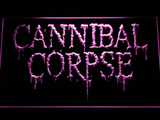 Cannibal Corpse LED Neon Sign - Purple - SafeSpecial