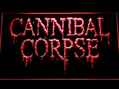 Cannibal Corpse LED Neon Sign - Red - SafeSpecial