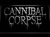 Cannibal Corpse LED Neon Sign - White - SafeSpecial