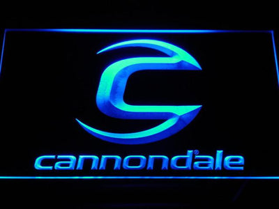 Cannondale LED Neon Sign - Blue - SafeSpecial