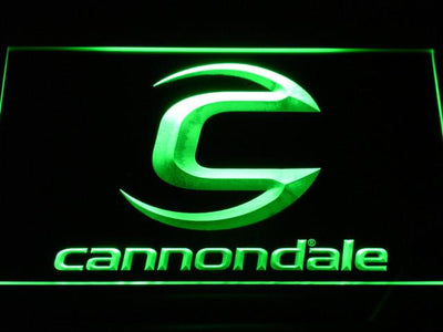 Cannondale LED Neon Sign - Green - SafeSpecial