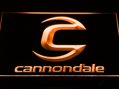 Cannondale LED Neon Sign - Orange - SafeSpecial