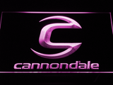 Cannondale LED Neon Sign - Purple - SafeSpecial