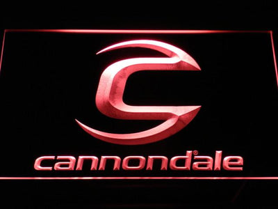 Cannondale LED Neon Sign - Red - SafeSpecial