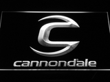 Cannondale LED Neon Sign - White - SafeSpecial