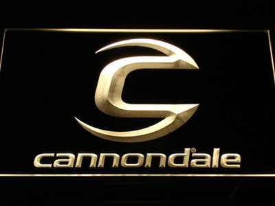 Cannondale LED Neon Sign - Yellow - SafeSpecial