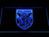 Canterbury-Bankstown Bulldogs LED Neon Sign - Blue - SafeSpecial