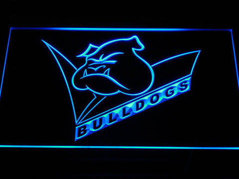 Image of Canterbury-Bankstown Bulldogs LED Neon Sign - Legacy Edition - Blue - SafeSpecial