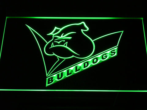 Canterbury-Bankstown Bulldogs LED Neon Sign - Legacy Edition - Green - SafeSpecial