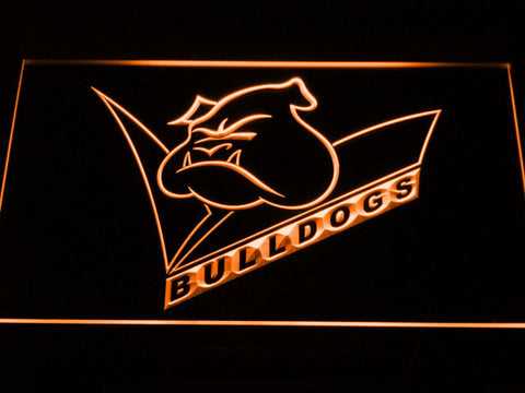 Canterbury-Bankstown Bulldogs LED Neon Sign - Legacy Edition - Orange - SafeSpecial