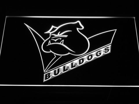 Canterbury-Bankstown Bulldogs LED Neon Sign - Legacy Edition - White - SafeSpecial