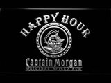 Captain Morgan Original Happy Hour LED Neon Sign - White - SafeSpecial