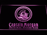 Captain Morgan Original Spiced Rum LED Neon Sign - Purple - SafeSpecial