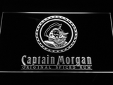Captain Morgan Original Spiced Rum LED Neon Sign - White - SafeSpecial