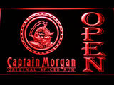 Captain Morgan Original Spiced Rum Open LED Neon Sign - Red - SafeSpecial