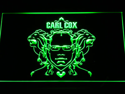 Carl Cox LED Neon Sign - Green - SafeSpecial
