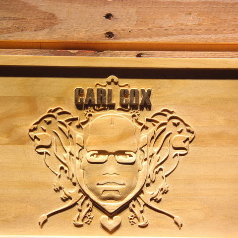 Carl Cox Wooden Sign - - SafeSpecial