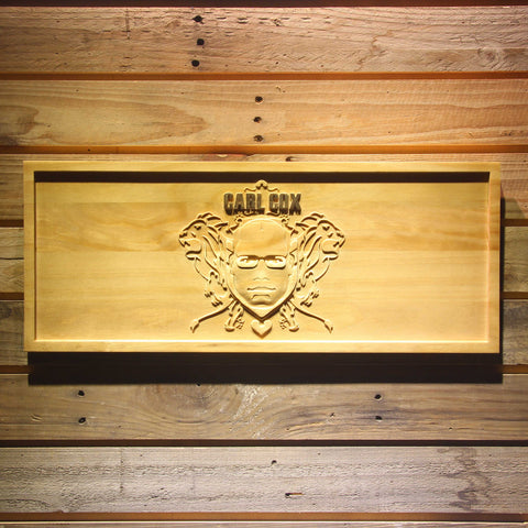 Carl Cox Wooden Sign - Small - SafeSpecial