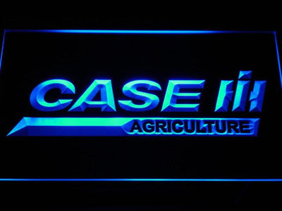 Case IH Agriculture LED Neon Sign - Blue - SafeSpecial