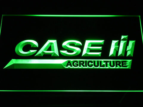 Image of Case IH Agriculture LED Neon Sign - Green - SafeSpecial