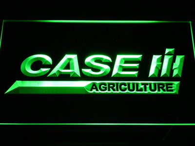 Case IH Agriculture LED Neon Sign - Green - SafeSpecial