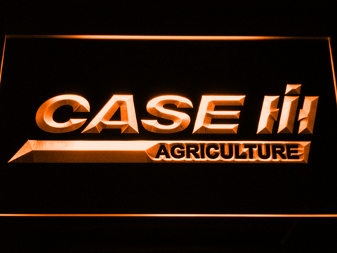 Image of Case IH Agriculture LED Neon Sign - Orange - SafeSpecial