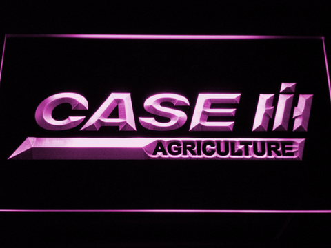 Image of Case IH Agriculture LED Neon Sign - Purple - SafeSpecial
