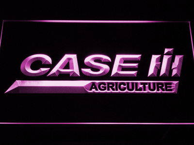 Case IH Agriculture LED Neon Sign - Purple - SafeSpecial