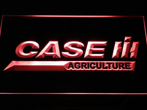 Image of Case IH Agriculture LED Neon Sign - Red - SafeSpecial
