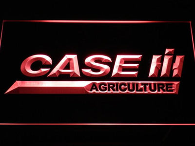 Case IH Agriculture LED Neon Sign - Red - SafeSpecial