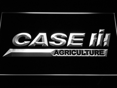 Case IH Agriculture LED Neon Sign - White - SafeSpecial