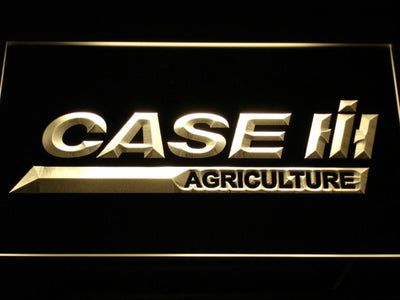 Case IH Agriculture LED Neon Sign - Yellow - SafeSpecial