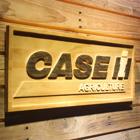 Image of Case IH Agriculture Wooden Sign - - SafeSpecial