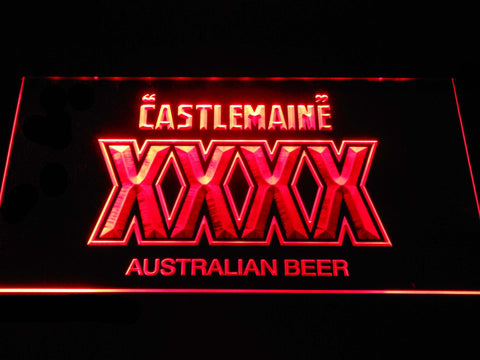 Image of Castlemaine XXXX LED Neon Sign - Red - SafeSpecial