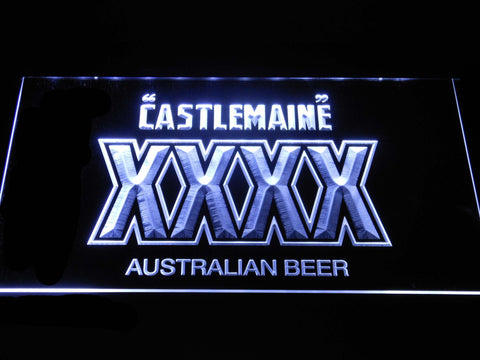 Image of Castlemaine XXXX LED Neon Sign - White - SafeSpecial