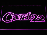 Catch 22 LED Neon Sign - Purple - SafeSpecial