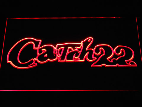 Image of Catch 22 LED Neon Sign - Red - SafeSpecial