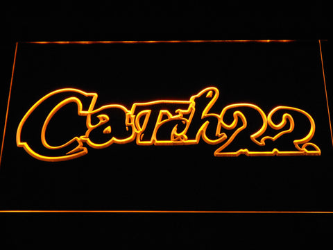 Image of Catch 22 LED Neon Sign - Yellow - SafeSpecial