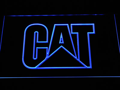 Caterpillar LED Neon Sign - Blue - SafeSpecial